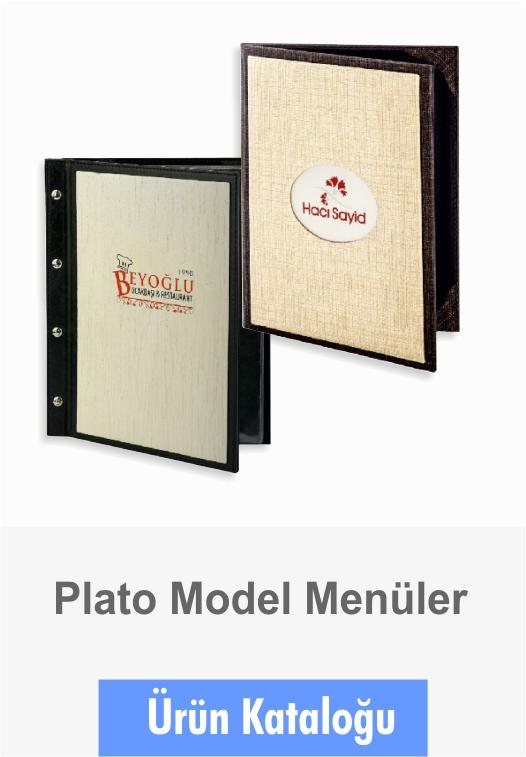 Menüler Plato Model