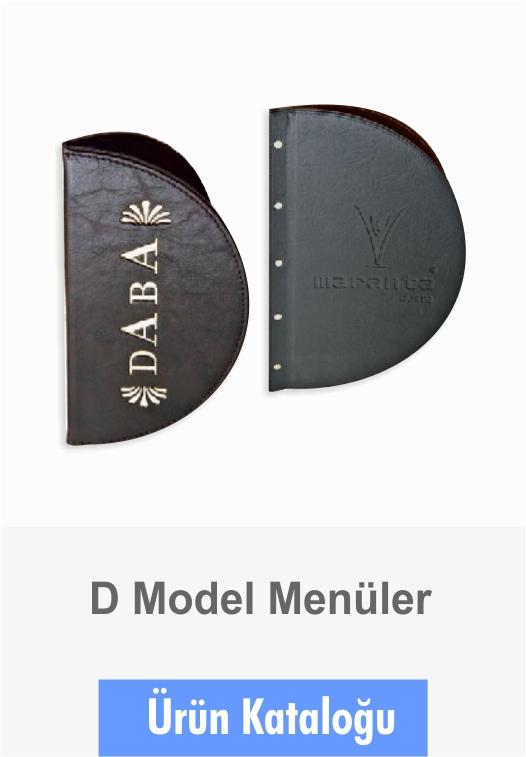 Menüler D Model