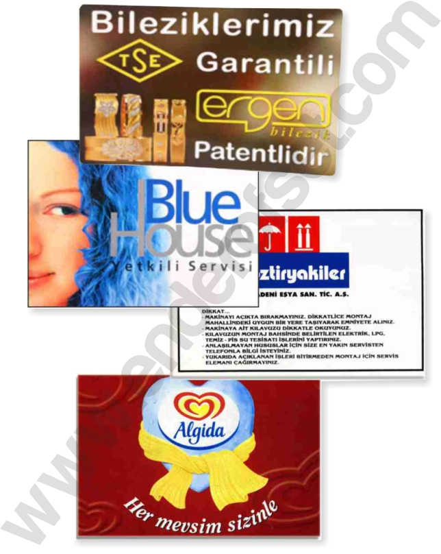 Pvc Folyo Etiket