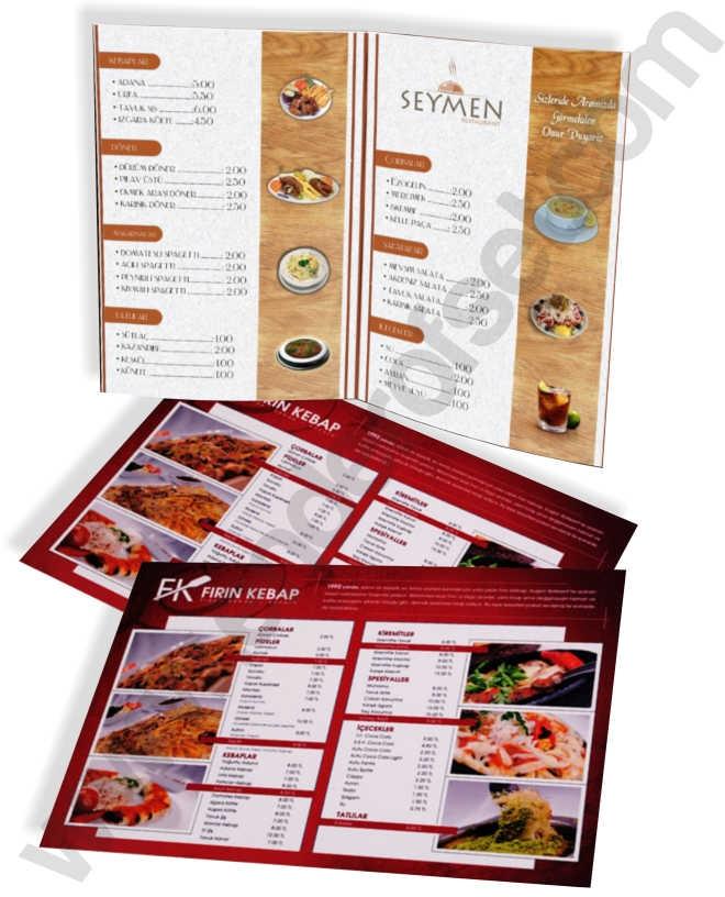 8 Sayfa Menü