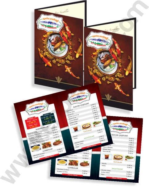 4 Sayfa Menü