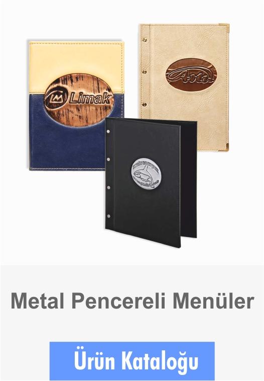 Menüler Metal Pencereli